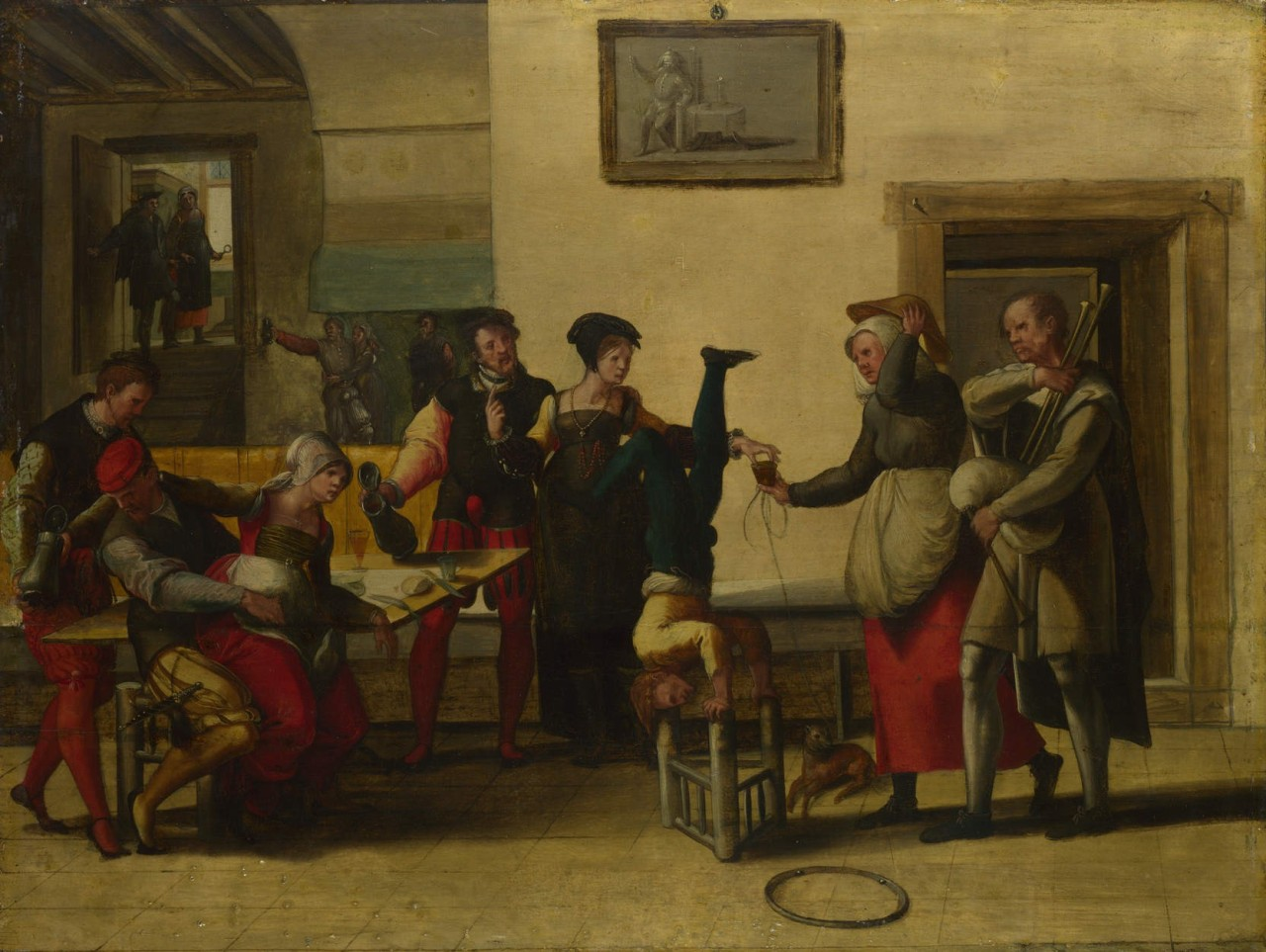 Brunswick_Monogrammist_-_Itinerant_Entertainers_in_a_Brothel